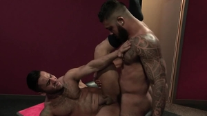 Raging Stallion - Muscled Ryan Cruz craving wanking