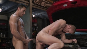 HotHouse: Ricky Decker in jeans sexy dancing in a truck