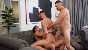 DrillMyHole.com - Masturbating with Johnny B & Nate Grimes