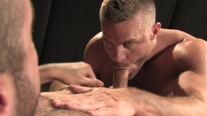 RagingStallion.com - Hairy Donnie Dean kissing each other