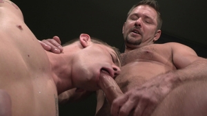 RagingStallion - Andrew Justice touches huge balls