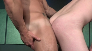 RagingStallion - Tall Andrew Stark tongue kissing outdoors
