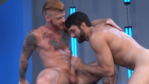 RagingStallion - Hard slamming starring hairy Tegan Zayne