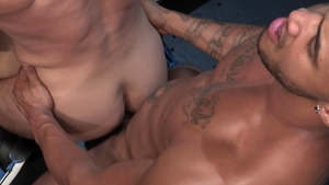Raging Stallion - Inked Bruce Beckham rimming