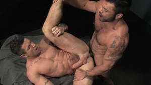 RagingStallion.com: Trenton Ducati is really hairy bodybuilder