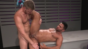 Raging Stallion: Latino Bruno Bernal lusts hard slamming