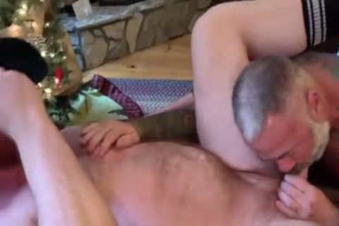 Ginger Daady And Silver Daddy hammer Very tight