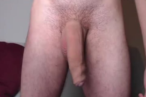 French chap Plays With His large biggest cock