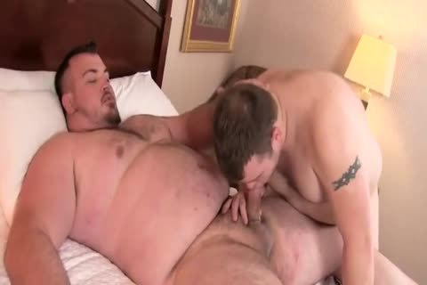 fat bulky thick knob bare young Uncle Bear